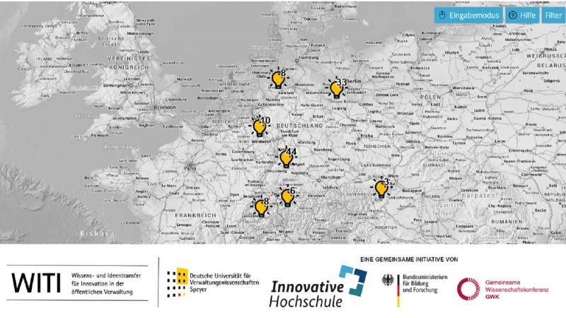 Der Atlas der Innovation (Quelle: WITI)