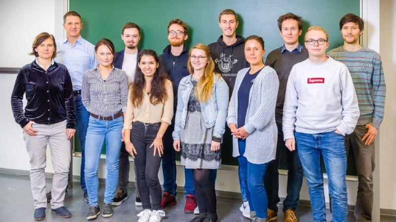 Die Trainees (Quelle:Saxony5)